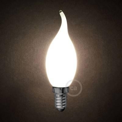 Ampoule LED blanc lait - Coup de Vent C35 - 4W E14 Dimmable 2700K