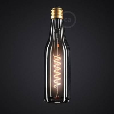 LED heldere bierfles lichtbron 8W E27 dimbaar 2200K