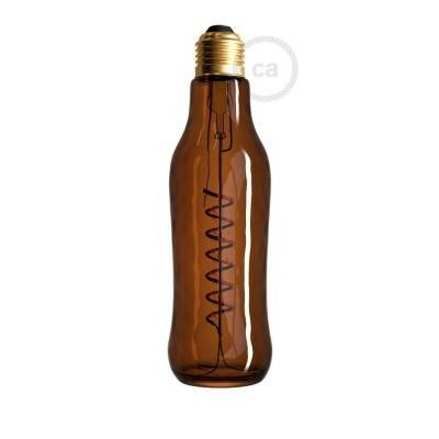 Ampoule LED Beer Marron 8W E27 Dimmable 1800K