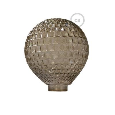 Ampoule Modulaire décorative G125 Diamant Fumé.