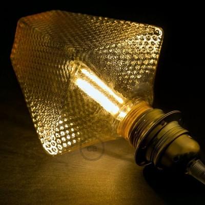 Ampoule Modulaire Décorative LED G160 Fumée 5W E27 Dimmable 2700K.