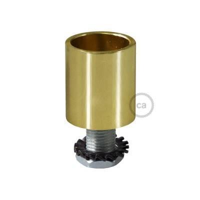 Raccord en métal doré pour Creative-Tube 16 mm, accessoires inclus
