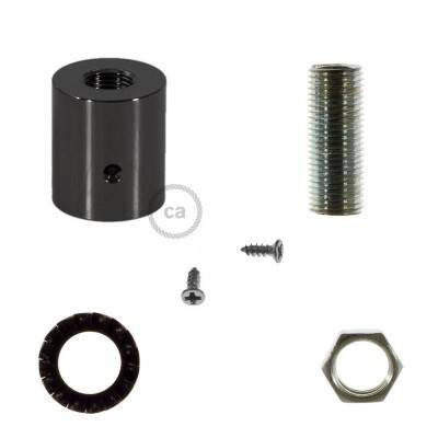 Design parelmoer aan- of afsluit dop voor Creative-Tube elektrabuis - met afmontage accessoires