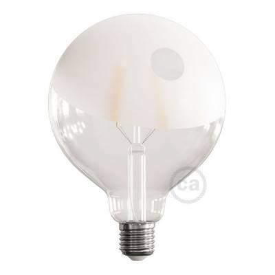 LED lichtbron Globe G125 gebogen LED spiraal – Tattoo Lamp® Pio 4W E27 2700K