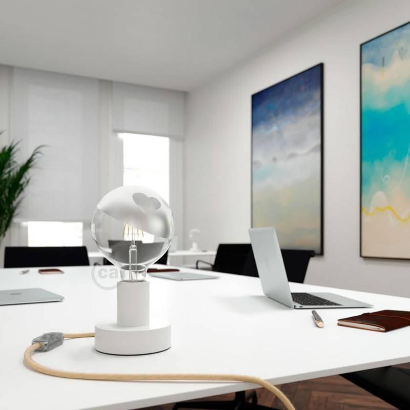 LED lichtbron Globe G125 gebogen LED spiraal – Tattoo Lamp® Cuore 4W E27 2700K