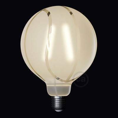 Ampoule LED Globe G125 Filament Court Version Tattoo Lamp® Modèle Basket 4W E27 2700K
