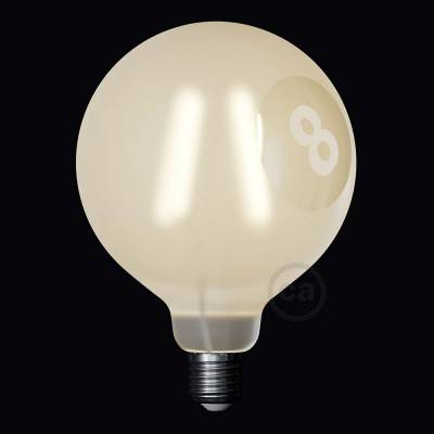 Ampoule LED Globe G125 Filament Court Version Tattoo Lamp® Modèle Otto 4W E27 2700K