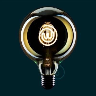 Ampoule Led Globo G125 série Masterchef filament Logo 4W E27 Dimmable 2000K