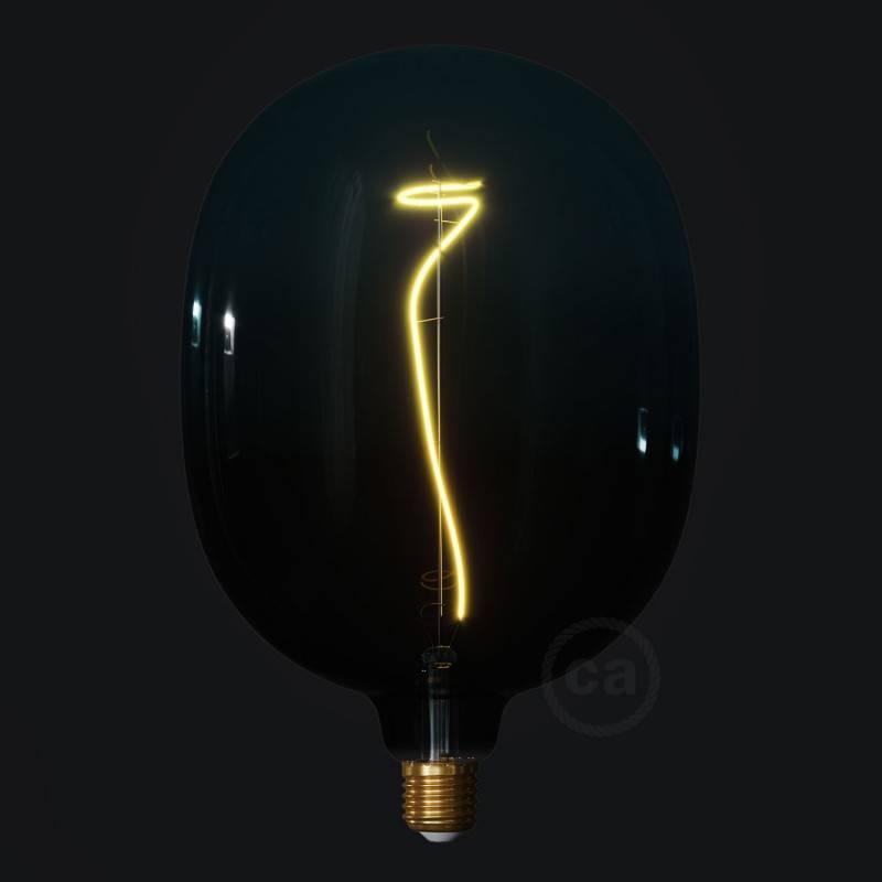 Ampoule LED Egg série Pastel, couleur Crépuscule (Dusk), filament liane 4W E27 Dimmable 2200K