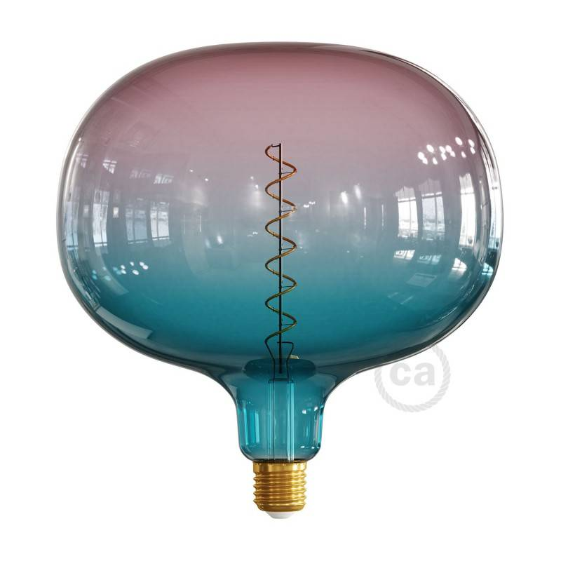 Ampoule LED Cobble série Pastel, couleur Rêve (Dream), filament spirale 4W E27 Dimmable 2200K