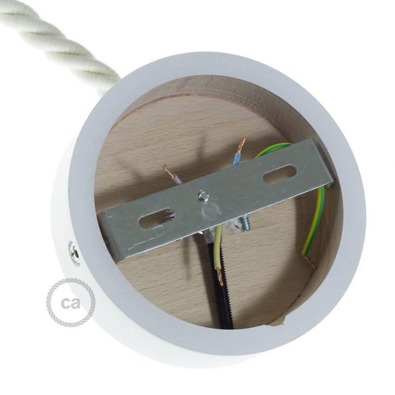 Houten plafondkap kit voor XL snoer