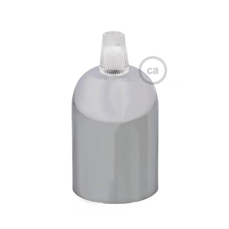 Afgeronde gelakte metalen E27 fittinghouder kit
