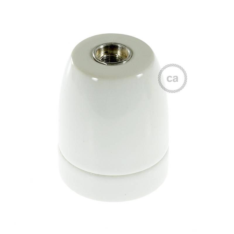 Kit douille E27 en porcelaine