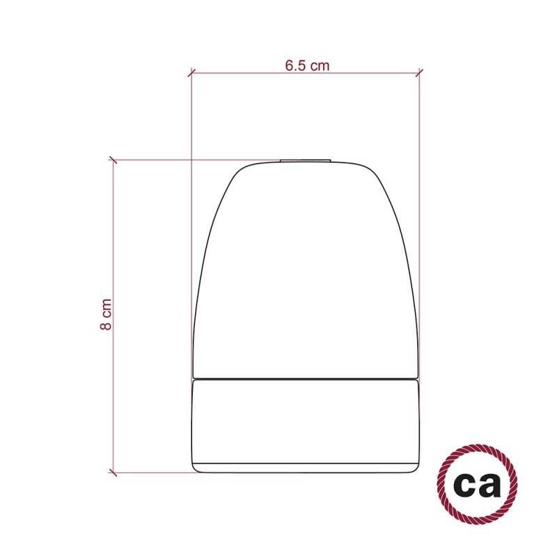 Porseleinen E40 fitting