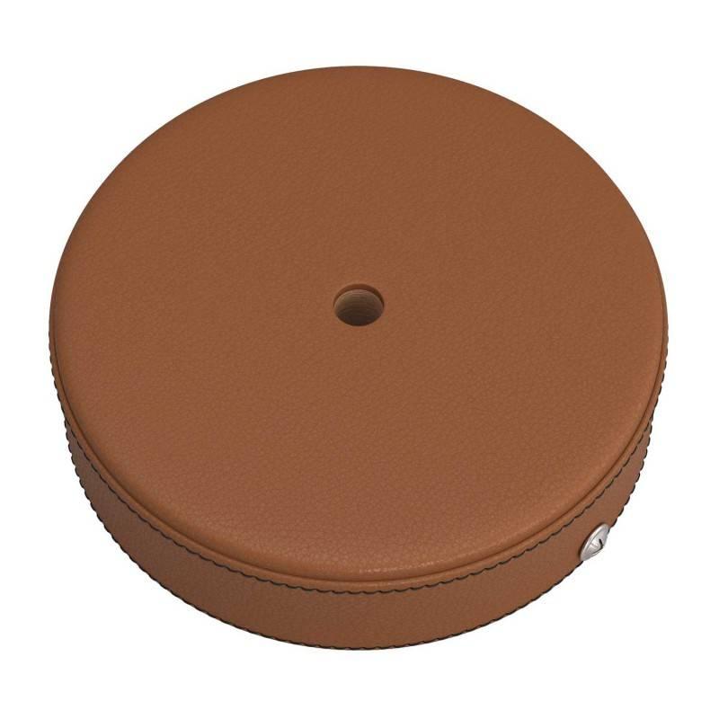 Kit rosace en bois recouvert de cuir