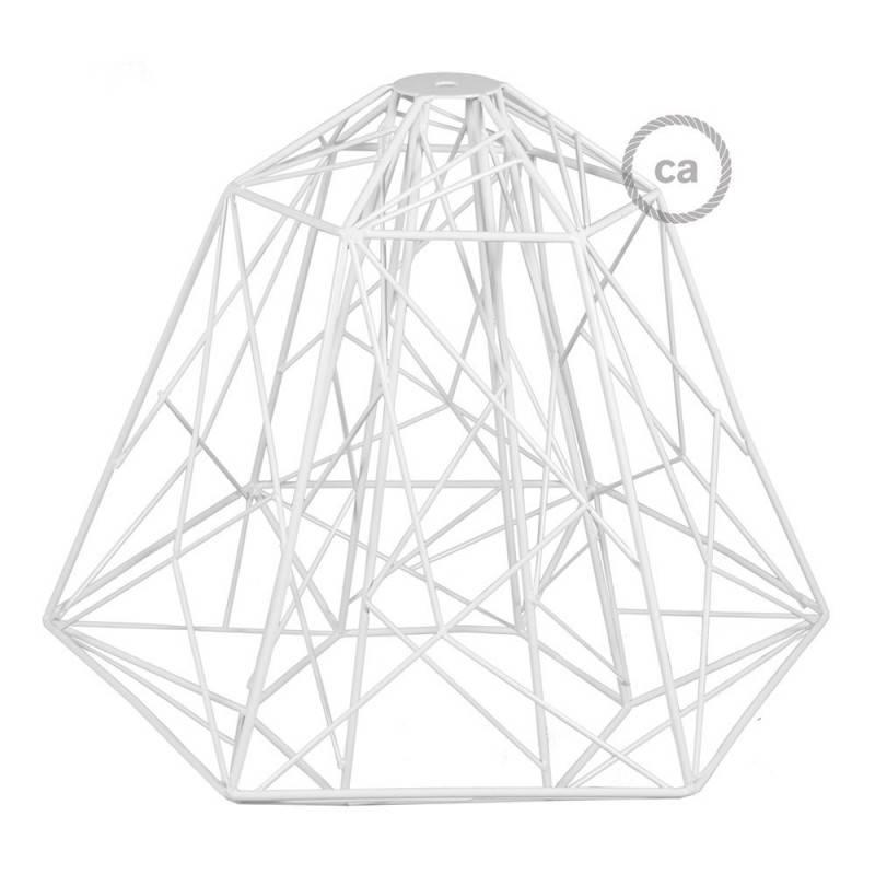 Abat-jour Cage XL Apollo en métal avec douille E27