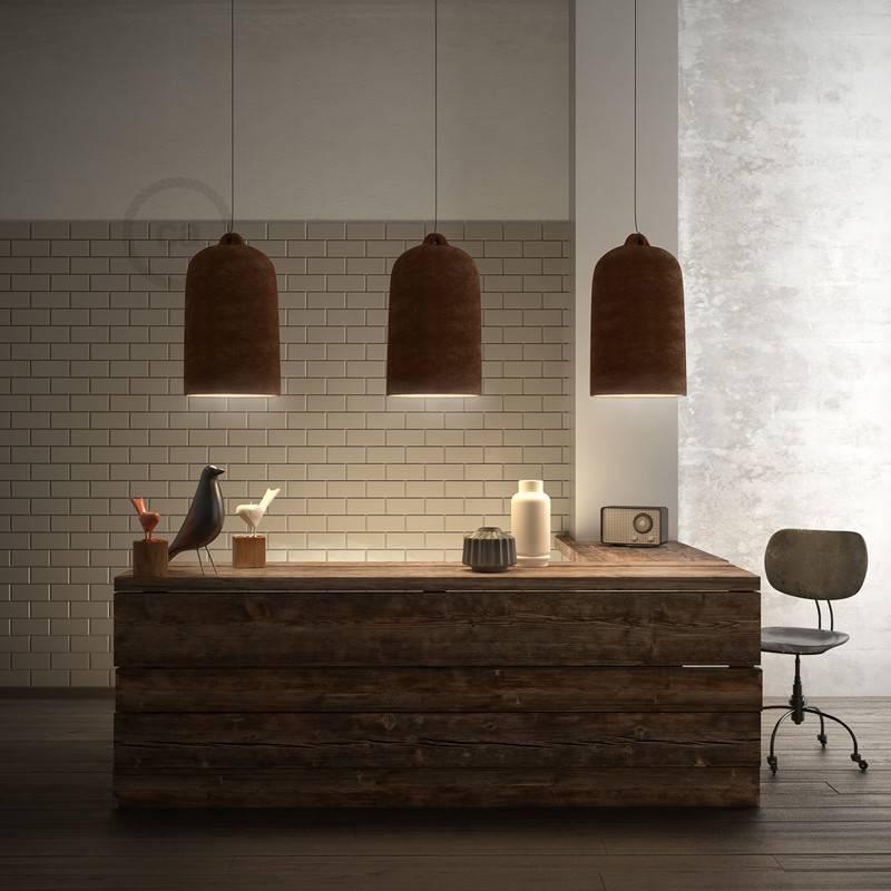Abat-jour Cloche XL en céramique - Made in Italy