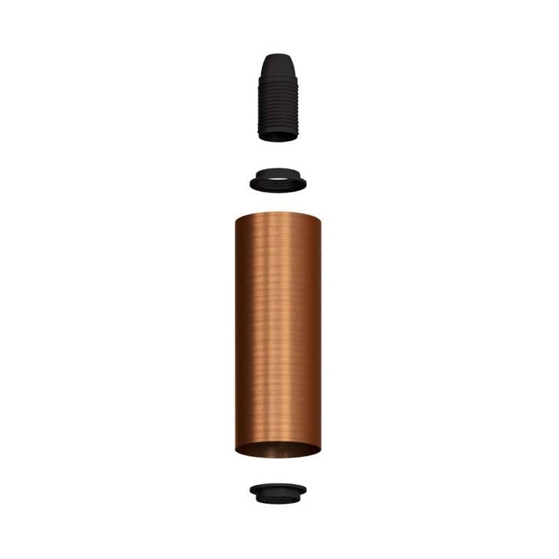 Tub-E14, tube-spot avec douille à double bague E14