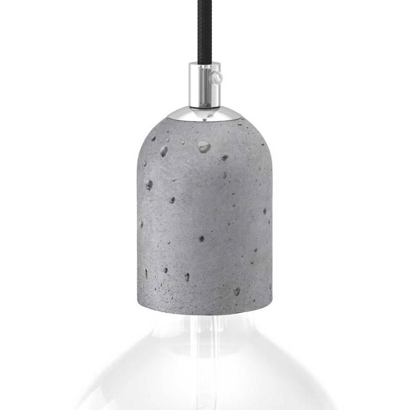 Cement E27 lamp holder kit