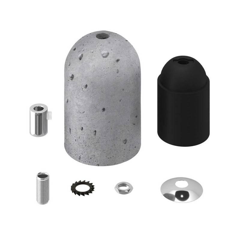 Kit douille E27 en ciment
