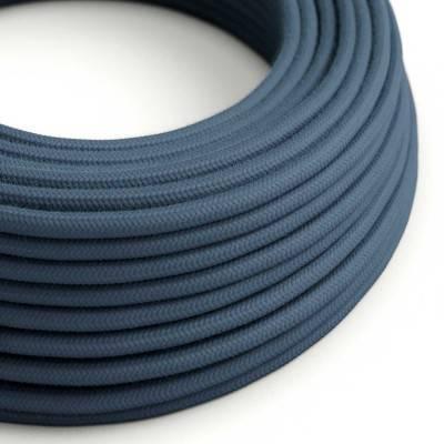 Rond flexibel strijkijzersnoer van katoen. RC30 - steengrijs