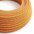 Rond flexibel strijkijzersnoer van katoen. RX07 - Indian Summer