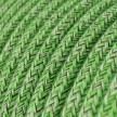 Rond flexibel strijkijzersnoer van katoen. RX08 - bronte