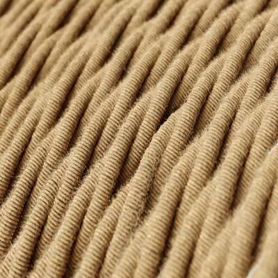 Gevlochten flexibele textielkabel van jute - TN06
