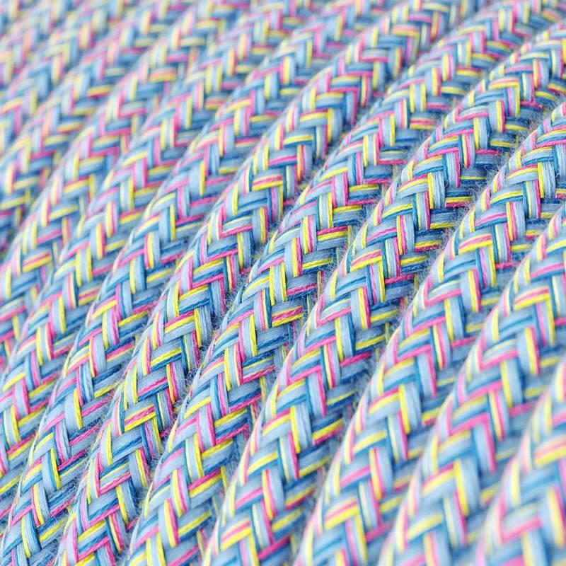 Rond flexibel strijkijzersnoer van katoen. RX09 - Lollipop