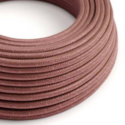 Rond flexibel strijkijzersnoer van katoen - Marsala RX11