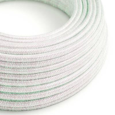 Ronde flexibele electriciteit textielkabel van viscose - RL00 unicorn