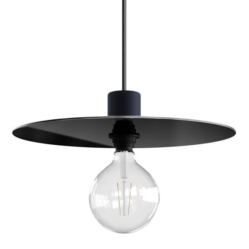 Plat Ellepì oversize en Dibond pour suspensions d'extérieur, diamètre 40 cm - Made in Italy