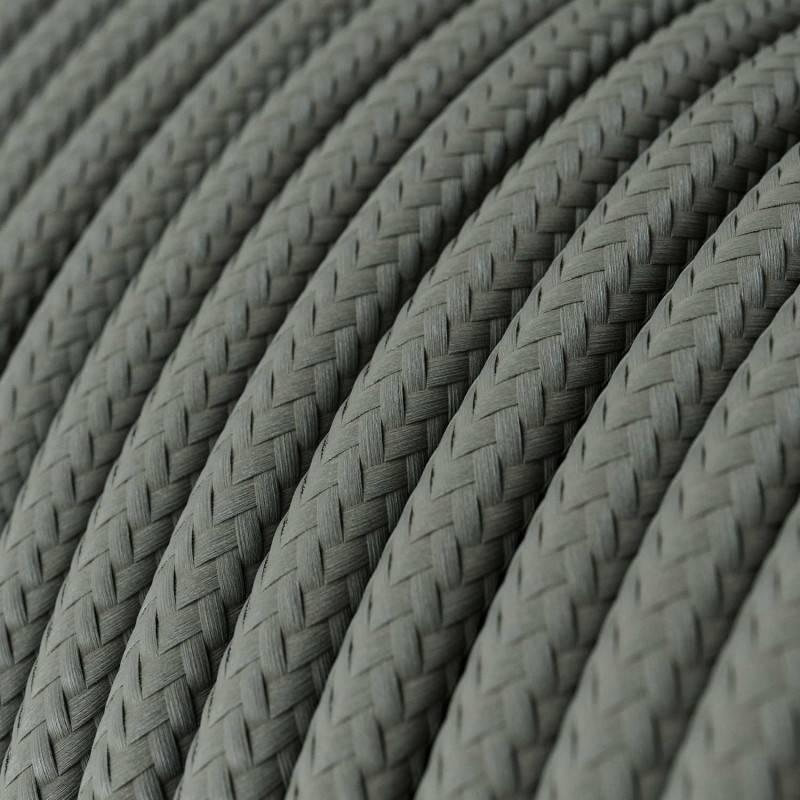 Suspension à 4 bras avec XXL Rose-One rectangulaire 675 mm complète avec câble textile et finitions en métal