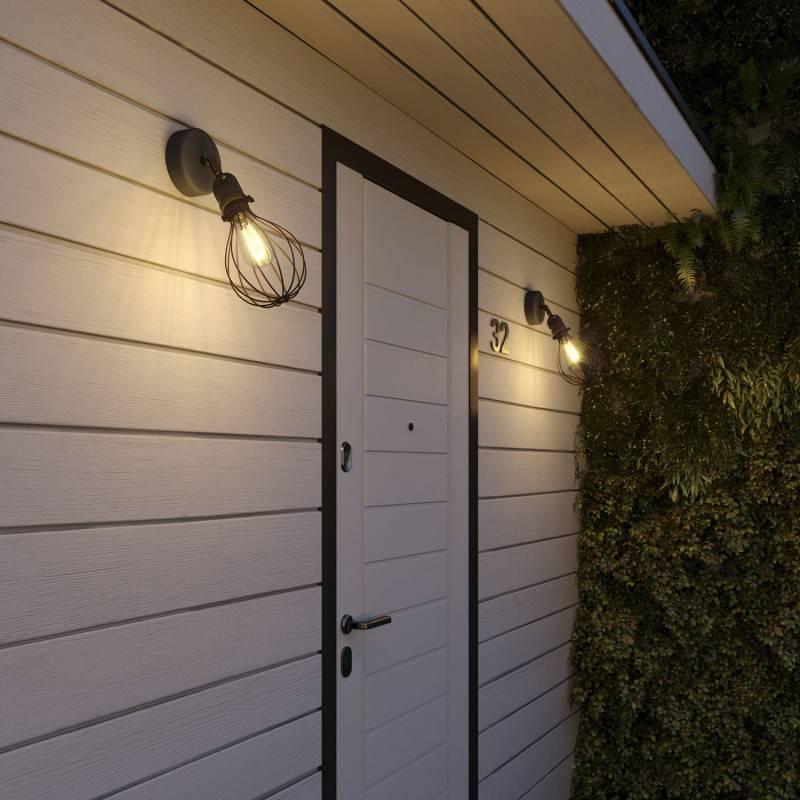 Fermaluce EIVA met Drop lampenkap en verstelbaar scharnier