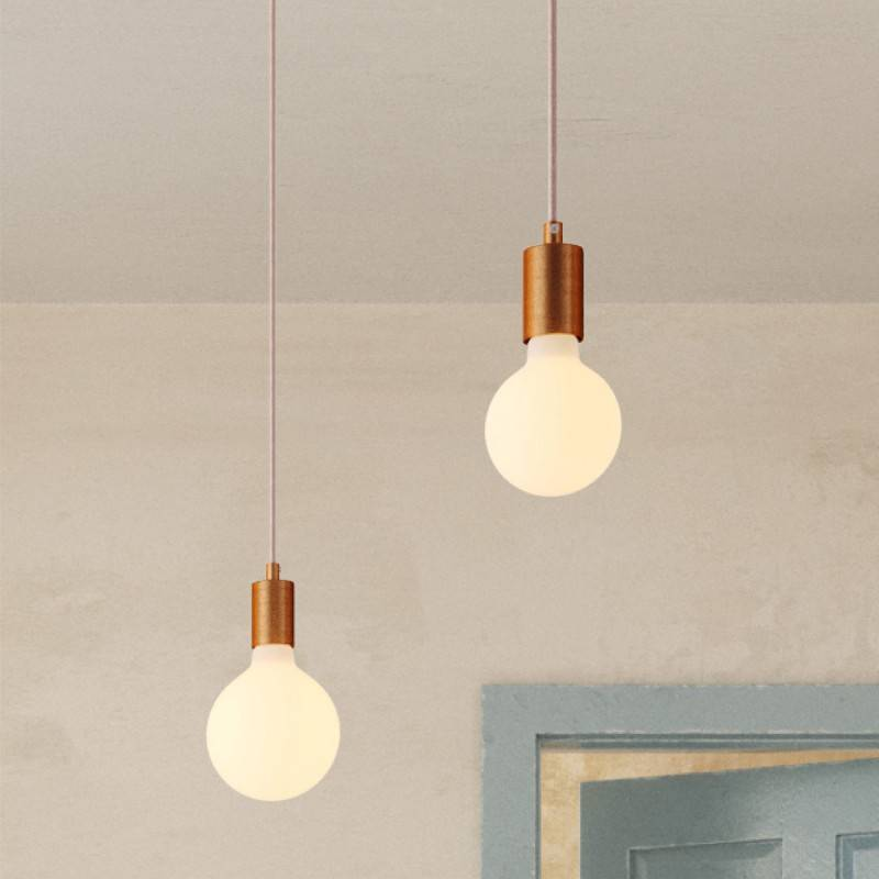 Spider - 4 lichts-meervoudige hanglamp, Made in Italy, compleet met strijkijzersnoer en metalen afwerking