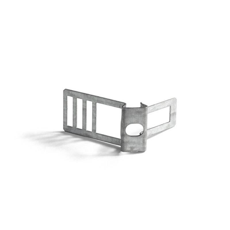 Clips passe-câbles métalliques pour cordon 16mm diamètre