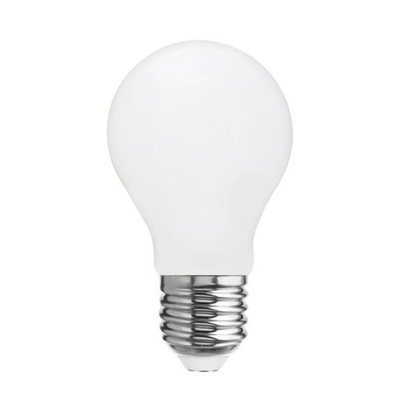Lampe Posaluce en métal avec abat-jour Cilindro Linone Blanc, avec câble textile, interrupteur et prise bipolaire