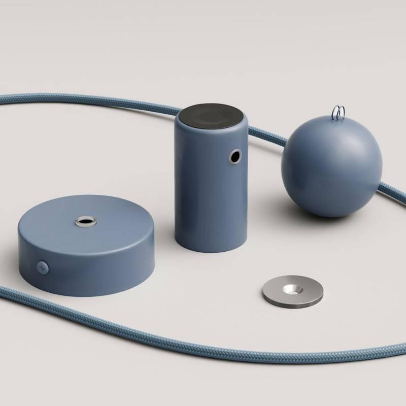 Lampe pendante Magnetic®-Pendel avec câble textile et douille magnétique réglable