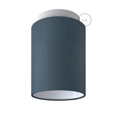 Fermaluce Pastel avec Abat-Jour Cylindre, pour montage mural ou au plafond