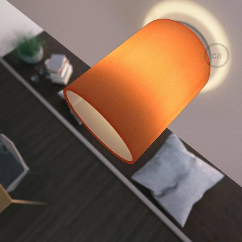 Fermaluce Color avec Abat-Jour Cylindre, pour montage mural ou au plafond
