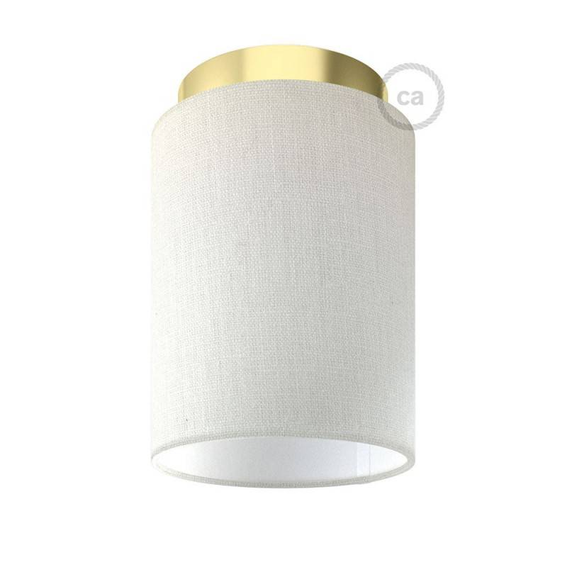 Fermaluce Glam avec Abat-Jour Cylindre, pour montage mural ou au plafond