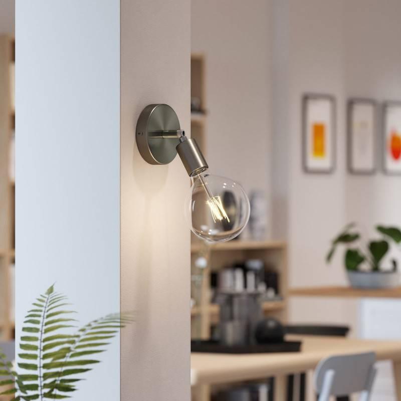 Fermaluce Métal 90°, applique murale ou au plafond, réglable