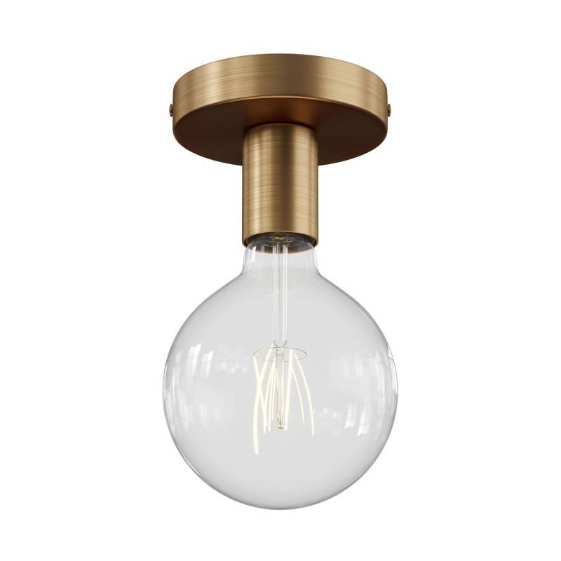 Fermaluce Métal, la source lumineuse en metal murale ou au plafond.