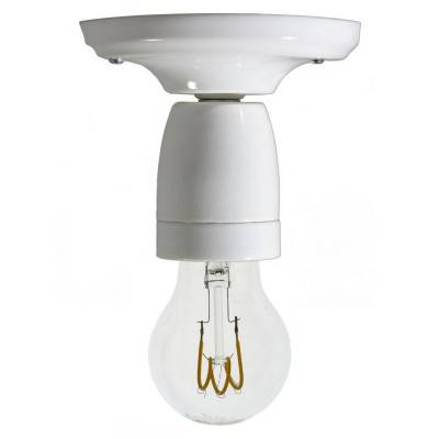 Fermaluce Color, gekleurde porseleinen wand- of plafondlamp