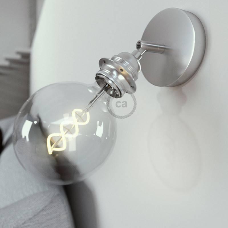 Fermaluce Metallo 90° met E27 schroefdraadfitting, verstelbaar metalen lamp