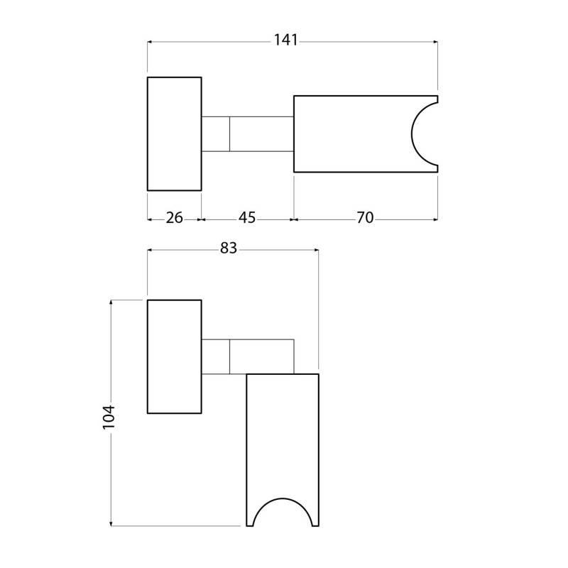 Fermaluce Syntax, verstelbare muurlamp met aansluiting en ovale houten plafondkap