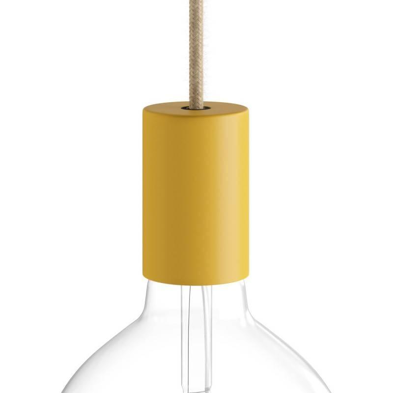Kit schroefdraadfitting Pastel E27 van metaal met verborgen kabelklem