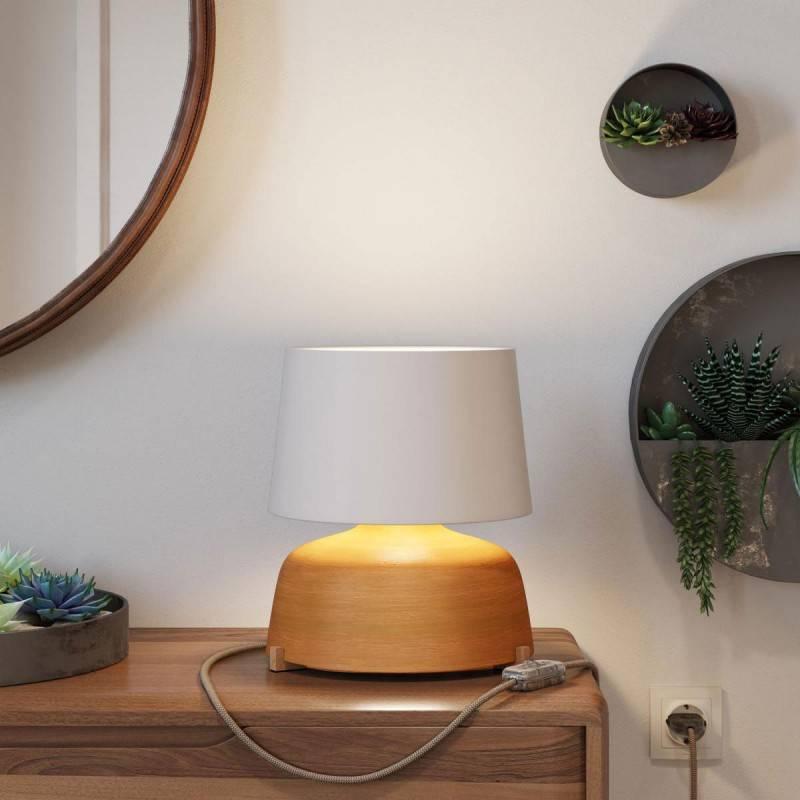 Abat-jour Athena avec culot E27 pour lampe de table - Made in Italy