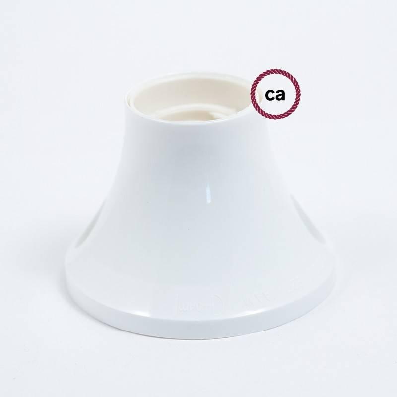 90° E27 thermoplastische wand- of plafondfitting