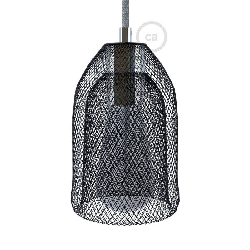 Abat-jour Cage GhostBell en métal avec kit douille E27